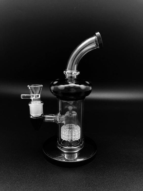 9inch Hippie Bong Bongs Space Smoke Shop Black