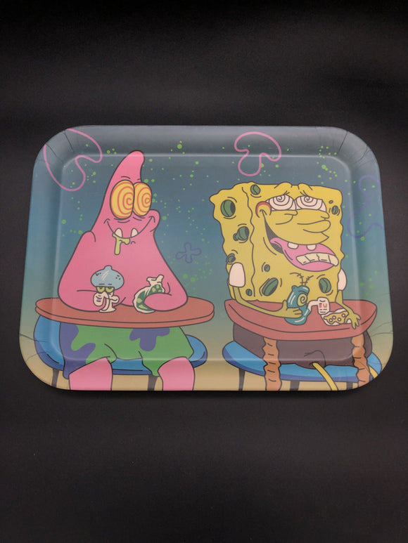 Best Pals Bamboo Rolling Tray Rolling Trays Space Smoke Shop