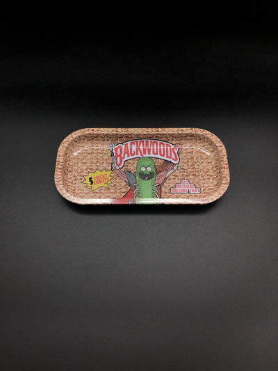 R&M Aluminum Rolling Tray Rolling Trays Space Smoke Shop