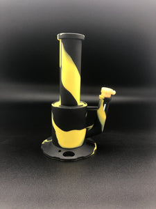 10inch Bumblebee 2-Piece Silicone Bong