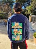 Custom Roll Up Jean Jacket Clothing Owl Pack