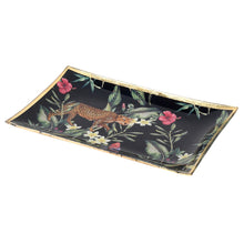 Load image into Gallery viewer, Tropical Plant and Leopard Trinket Tray