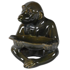 Green Monkey Leaf Dish