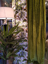 Load image into Gallery viewer, Voyage & Kai Velvet Pair Designer ex-display Curtains