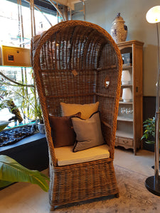 Wicker Porters Chair