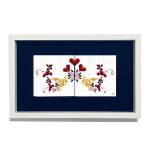 Lovebirds Limited Edition Framed Duo