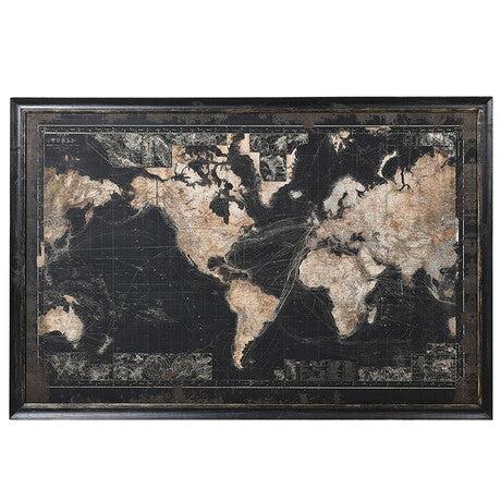 Vintage Look World Map