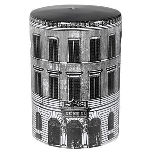 Rome Windows Print Ceramic Stool