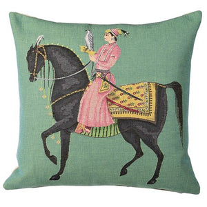 Left Indian Horse Cushion