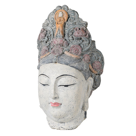 Large Chinese Goddess Head