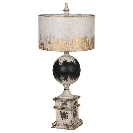 Bellamy Distressed Metal Table Lamp