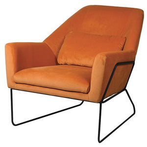 Orange Armchair