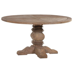 Colonial Reclaimed Pine Round Dining Table