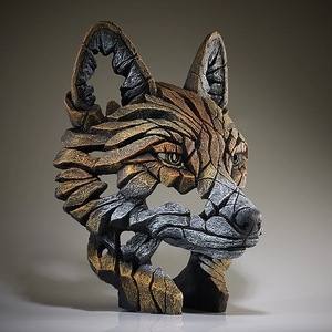 Fox Head Sculpture