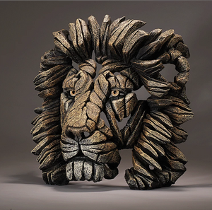 Savannah Lion Bust