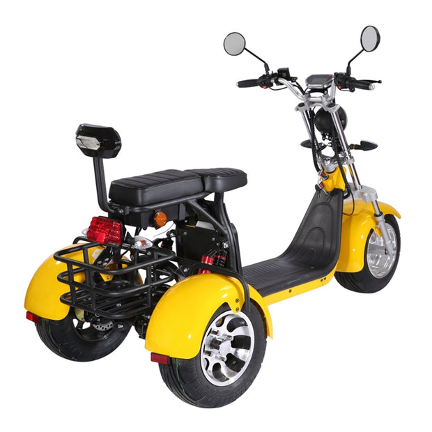 Moped Electric Trio | Viteza 45km/h | Autonomie 60km/120km