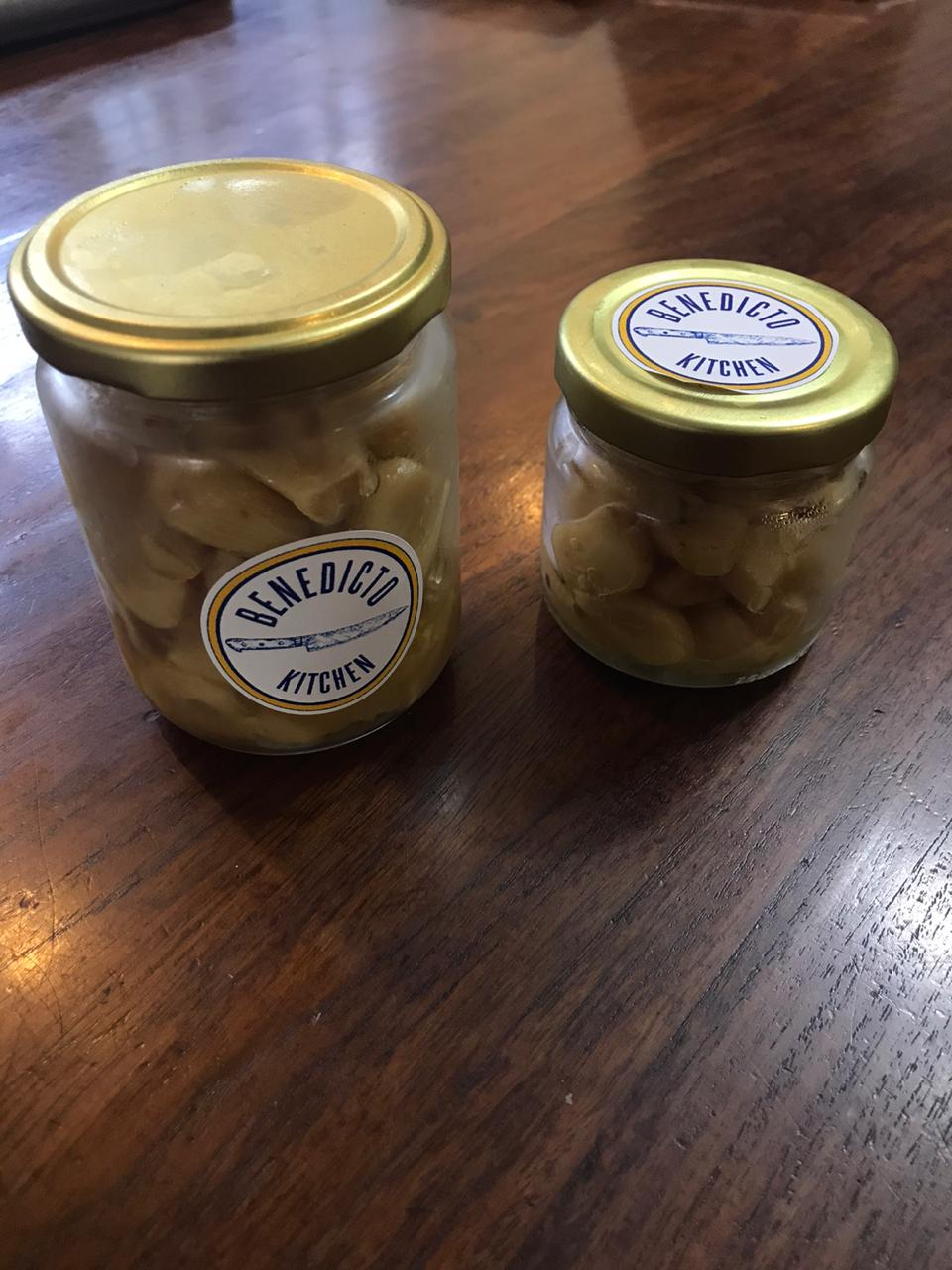 Roasted Garlic in a Jar