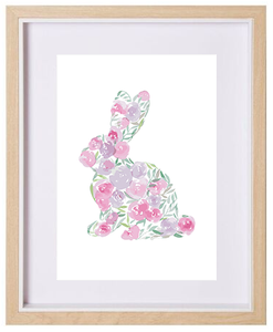 Floral Bunny
