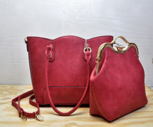 Load image into Gallery viewer, 88886 Gem Stub 2in1 Tote Wholesale Handbag