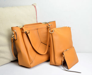 88892 Spacious Tote 3in1 Wholesale Handbag