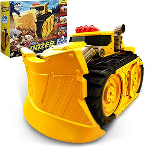 Xtreme Power Dozer - Motorized Extreme Bulldozer Toy Truck for Boys & Kids Who Love Construction Toys – Plow Through Dirt, Toys, Wood, Rocks