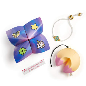 WowWee Lucky Fortune Blind Collectible Bracelets - 4 Pack Take-Out Box - Series 1
