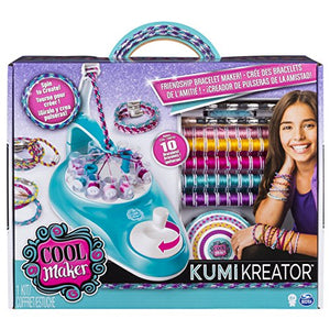 Cool Maker KumiKreator Friendship Bracelet Maker Kit for Kids Ages 8 and Up