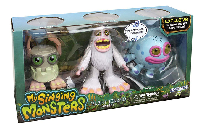 My Singing Monsters Exclusive 3 Pack of Musical Collectible Figures