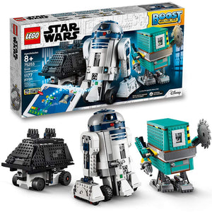 LEGO Star Wars Boost Droid Commander 75253 Star Wars Droid Building Set with R2 D2 Robot