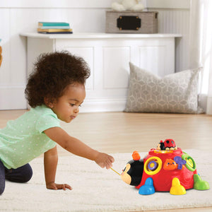 VTech Crazy Legs Learning Bugs, Red