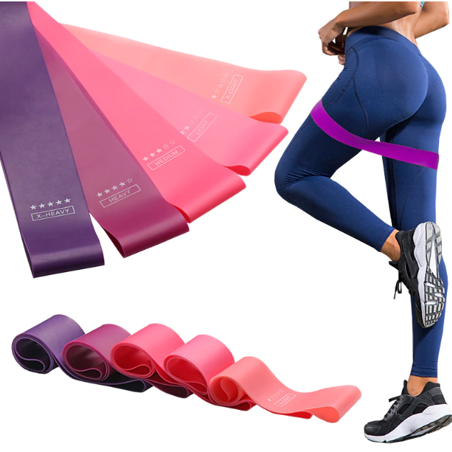 Professional Workout Resistance Bands (5pcs) By StretchBest™