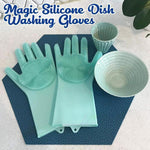3 IN 1 Magic Silicone Dish Washing Gloves Monster