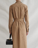 Madison Dress Cotton Camel