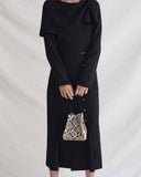 Maude Dress Crepe Black - SPECIAL PRICE
