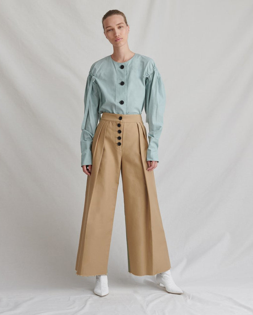 Brodie Trousers Denim Beige