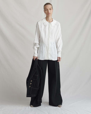 Eve Trousers Wool Black