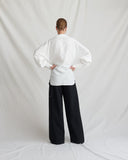 Carly Shirt Linen White