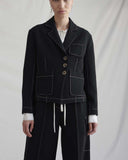 Rhia Jacket Wool Black