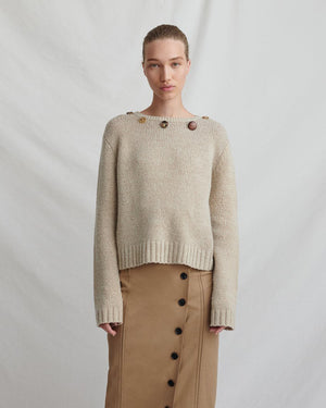 Erin Sweater Wool Beige