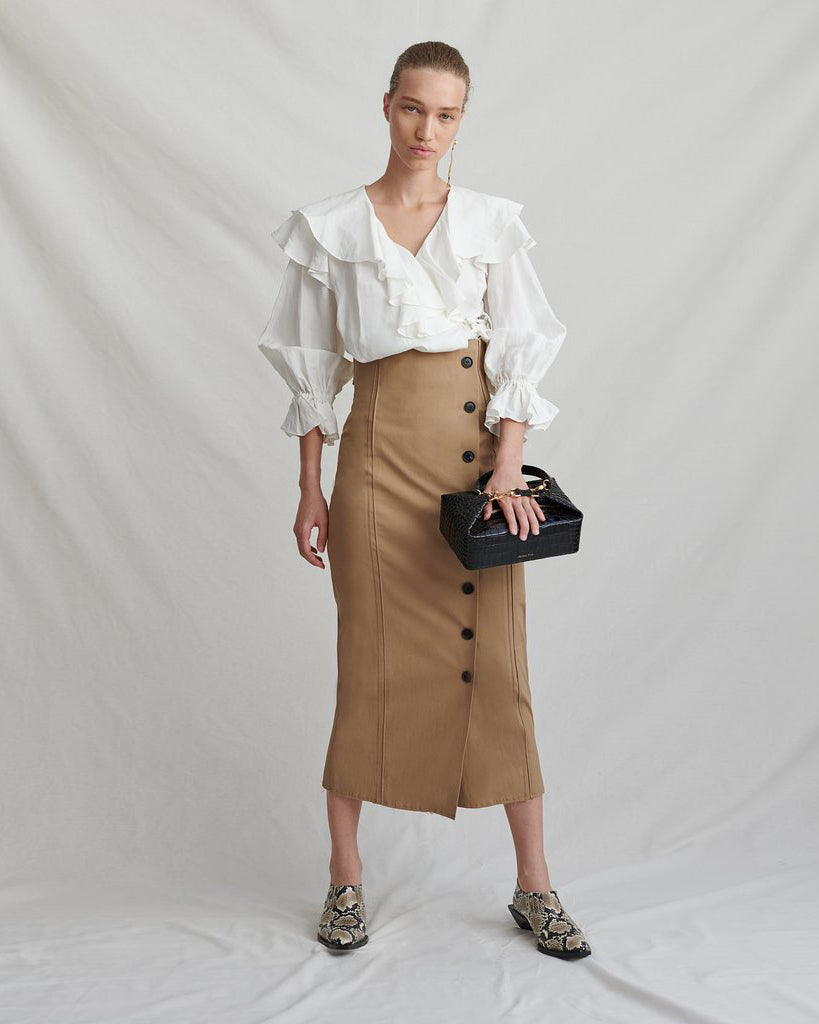 Scout Skirt Cotton Camel