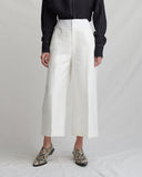 Tate Trousers Cotton Ivory