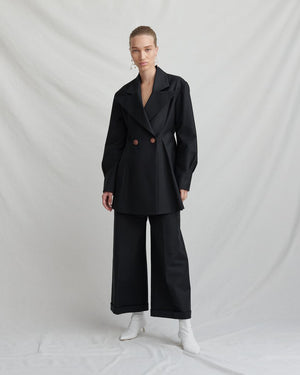 Tate Black Trousers