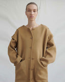 Simone Coat Wool Camel - Exclusive