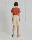 Sabrina T-Shirt Cotton Jersey Chesnut