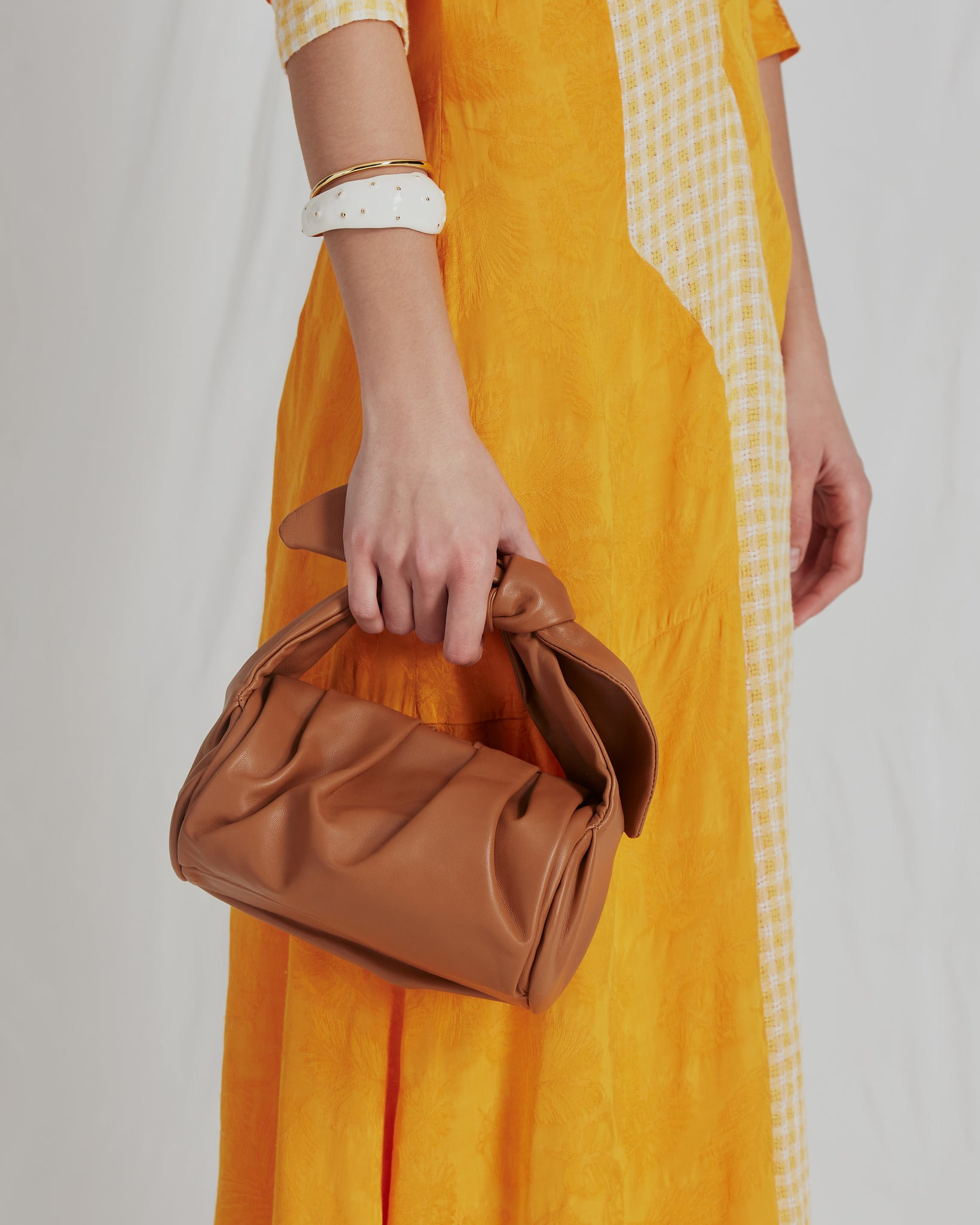 Nane Bag Leather Brown