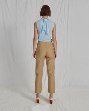 Miller Trousers Cotton Khaki
