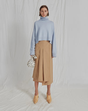 Lyn Knit Sweater Cashmere Blue
