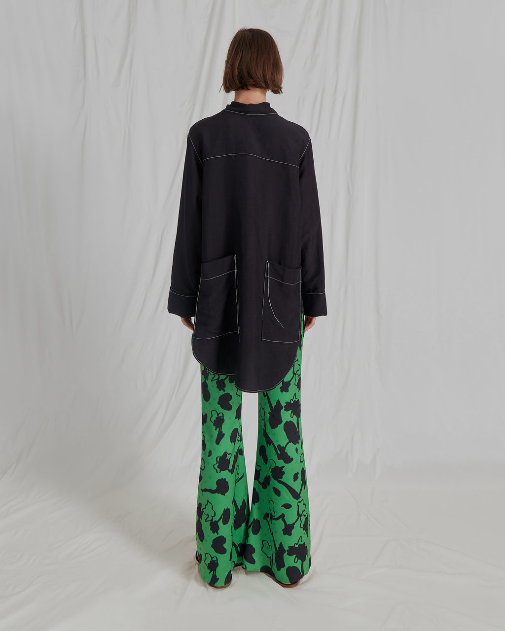 Ashley Trousers Print Green