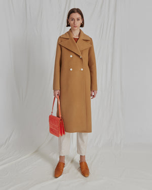 Simone Coat Wool Camel - WEBSHOP EXCLUSIVE