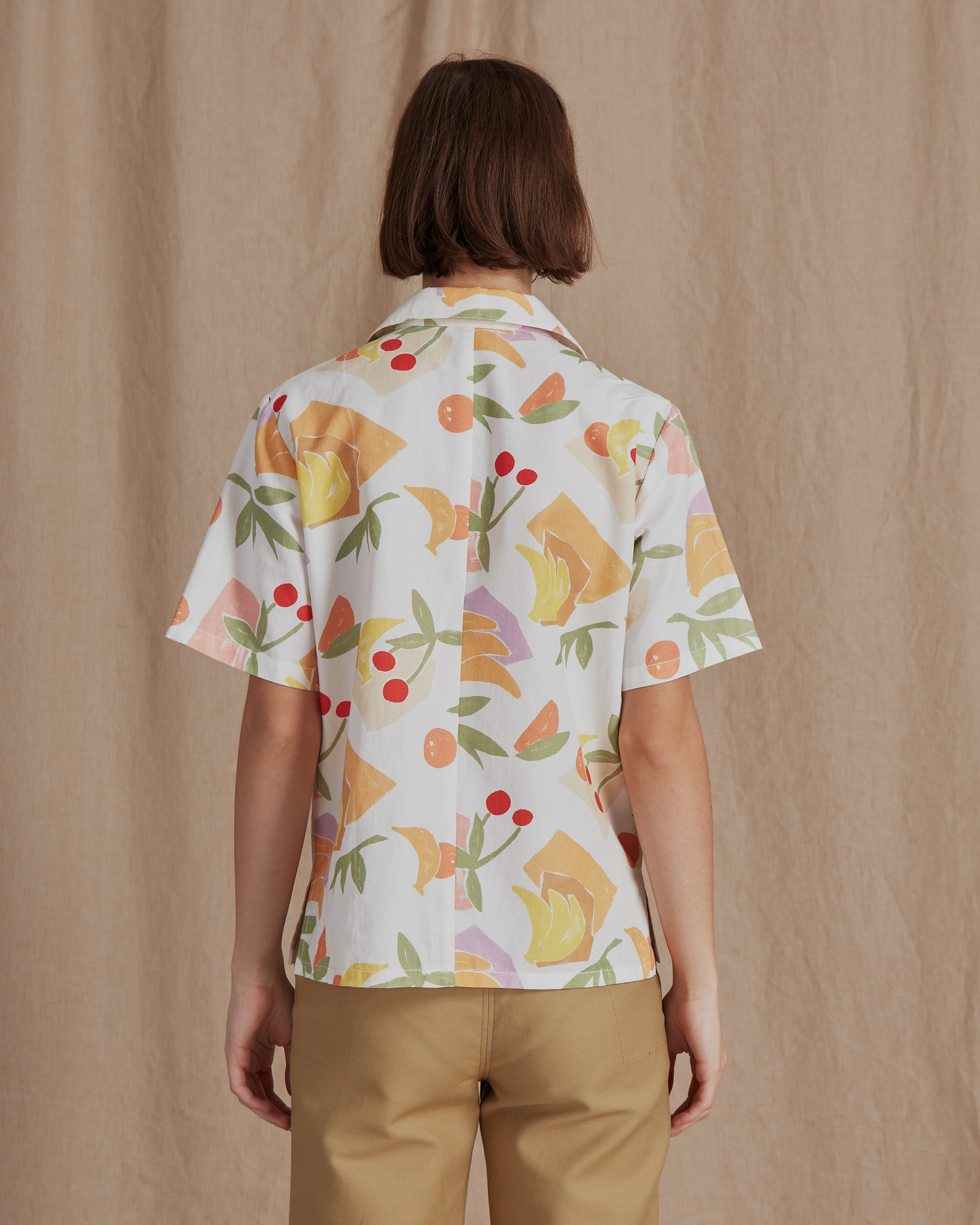 Mila T-shirt Cotton Bamboo Fruit Print